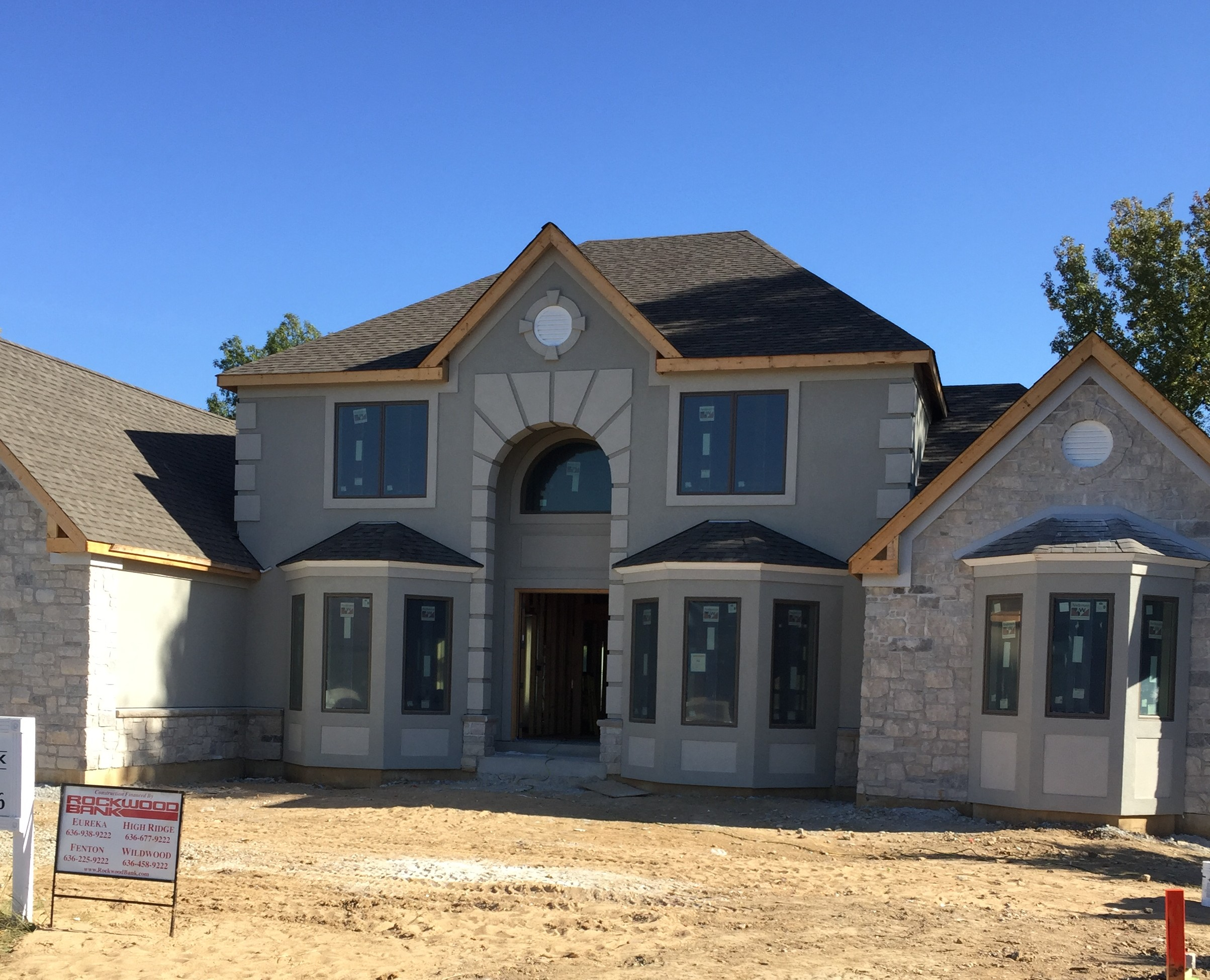 New Eifs Home In Town And Country Mo